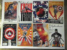 MARVEL COMICS CAPTAIN AMERICA #1-8 COMIC BOOK SET! CASADAY ART! NEW