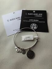 NEW ALEX AND ANI LIVE MUSIC BRACELET (+) Energy EWB RS A14EB41RS  Silver