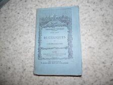 1877.Bucoliques et géorgiques.Virgile