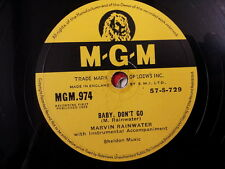"78 rpm 10"" BABY DONT GO Marvin Rainwater"