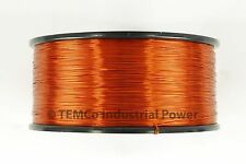 18 AWG Gauge Enameled Copper Magnet Wire 200C 1.5lb 298ft Magnetic Coil Winding