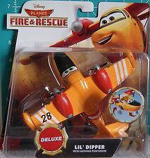 2014 Disney PIXAR PLANES FIRE & RESCUE Deluxe ~'LIL DIPPER~ w/ Moving Pontoons