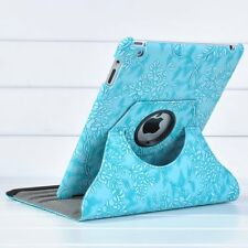 360 Rotating Folio Stand Smart Leather Back Case Cover For iPad 2 3 iPad 4 9.7""