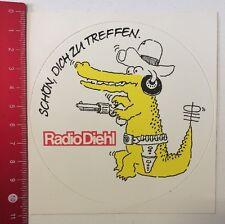 Aufkleber/Sticker: Radio Diehl - Schön Dich Zu Treffen (140516179)
