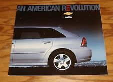 Original 2005 Chevrolet Malibu Deluxe Sales Brochure 05 Chevy