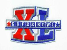 AFC NFL SUPER CHAMPION BOWL XL SUPERBOWL SB 40 PATCH STEELERS SEAHAWKS PATCH