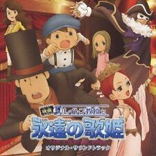 USED PROFESSOR LAYTON AND THE ETERNAL DIVA ORIGINAL SOUNDTRACK CD