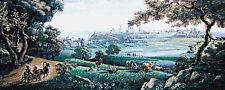 Panneau décoratif tapisserie style gobelin Paysage Russe Panneau décoratif