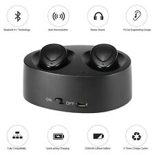 Latest True Twins Wireless Bluetooth Earbuds Headset With Portable Charging Case