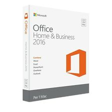 Microsoft Office 2016 Home & Business per Mac product key ORIGINALE FATTURABILE
