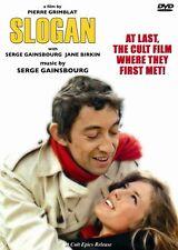 SLOGAN SERGE GAINSBOURG JANE BIRKIN PIERRE GRIMBLAT NEW SEALED DVD FREE SHIPPING