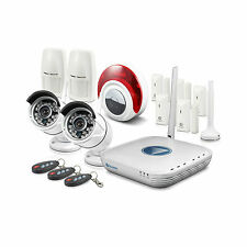 Swann NVA-460 Wi-Fi CCTV & Alarm Security Camera Kit, 2 x 720p Cameras, Etc