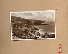 Cornwall St Ives Clodgy Five points real photo sepia Valentines  unposted art