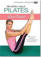 DVD VIDEO Exercise Routines JANIS SAFFELL BEVERLY HILLS PILATES
