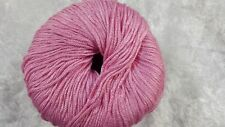 Heirloom Bamboo & Wool 8 Ply #851 Light Pink 50g