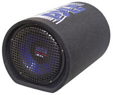 "Pyle Sub Subwoofer Tube Car Audio Stereo System Blue Wave Series 8"" 400W Bass"