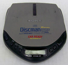 Vintage Sony Discman DE307CK  Portable CD Player  Car Ready