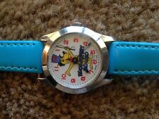 "HUCKLEBERRY HOUND, Manual Wind Ultra Rare""KIDS/ MENS WATCH,swiss made works"