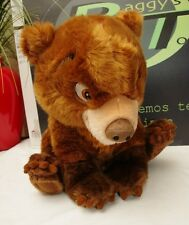 "Disney Store My Brother Bear 15"" Plsuh Toy Brown Bear"