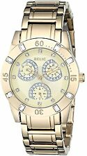 """Relic by Fossil """"Beth"""" Gold Tone Crystal Women's Watch ZR15681 DEAD BATTERY"""