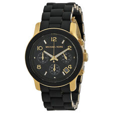 Michael Kors Black Catwalk Chronograph Watch MK5191