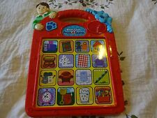 BLUE'S CLUES Press & Guess Electronic Interactive Learning Teaching Game (Used)