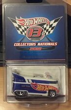 Hot Wheels 13th Nationals 2013 Race Team Security Volkswagen VW Drag Bus #d/3000