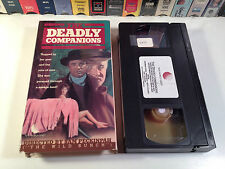 The Deadly Companions Western VHS 1961 Maureen O'Hara Sam Peckinpah 1st Feature
