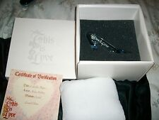 "DISNEY Cinderella Glass Slipper ""This is Love"" Arribas Brothers Swarovski LE"