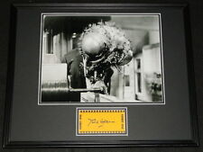 David Hedison Signed Framed 16x20 Photo Poster Display The Fly
