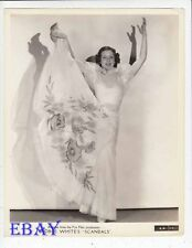 Eleanor Powell sexy limber VINTAGE Photo George White's Scandals 1934