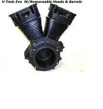 Harley Davidson HD V-Twin Evo Set up Motorcycle Engine With Heads & Barrels,HD
