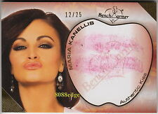 2011 BENCHWARMER HOT 4 TEACHER LIP KISS: MARIA KANELLIS #12/25 PLAYBOY/WWE DIVA