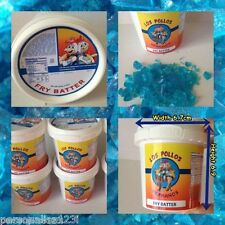 2 x BREAKING BAD BLUE METH CANDY in LOS POLLOS HERMANOS MINI TUB