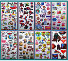 Girls/Boys Temporary Tattoos SPIDERMAN, MINIONS, PONY, WINX, FROZEN Party Bags