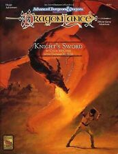 DLQ1 KNIGHT'S SWORD Dragonlance EXC+! 9381 AD&D Module Dungeons Dragons D&D TSR