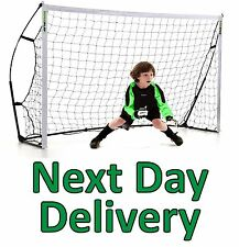 Kickster but de foot 8 x 5. ultra portable goal post, durable et fort