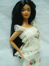 Vtg Barbie DOLLS OF THE WORLD DOTW 90s DOLL & CLOTHES Lot POLYNESIAN 1994