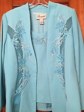Princess Precious Collection Suit Ocean Blue Size 14 New With Tags
