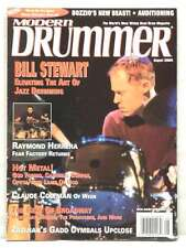 MODERN DRUMMER MAGAZINE BILL STEWART RAYMOND HERRERA GOD FORBID LAMB OF GOD