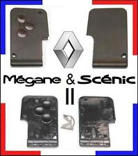 COQUE CARTE remplacement 3 boutons RENAULT Megane II et Scenic 2, sous 48H!!