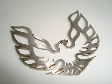 ~SUPER NEW & METAL~  FIREBIRD TRANS AM FENDER EMBLEM Formula Pontiac Stainless