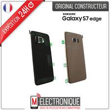 Vitre arrière Gold Original Samsung Galaxy S7 Edge G935