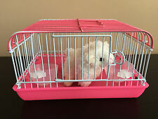 Cutest Toy Pet Cage in the world! Perfect Christmas Present - Pink