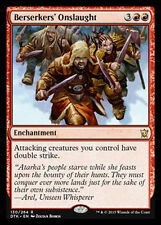 MTG 2x BERSERKERS' ONSLAUGHT - ASSALTO DEI BERSERKER - DTK - MAGIC