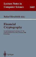 Financial Cryptography: Second International Conference, FC'98, Anguil-ExLibrary