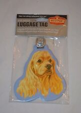 NEW Set of 2 Westport Pet Company Brand Cute Dog Cocker Spaniel Luggage Tag