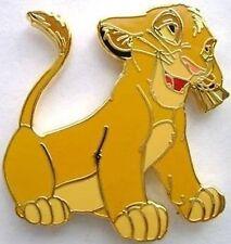 SIMBA SITTING FLOPPY EARS LION KING  DISNEY  PIN