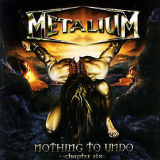 Nothing to Undo, Chapter Six by Metalium CD metal - SEALED