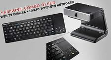 Samsung Combo Of VG-STC4000 Web TV Camera & VG-KBD1000 Smart Wireless Keyboard.